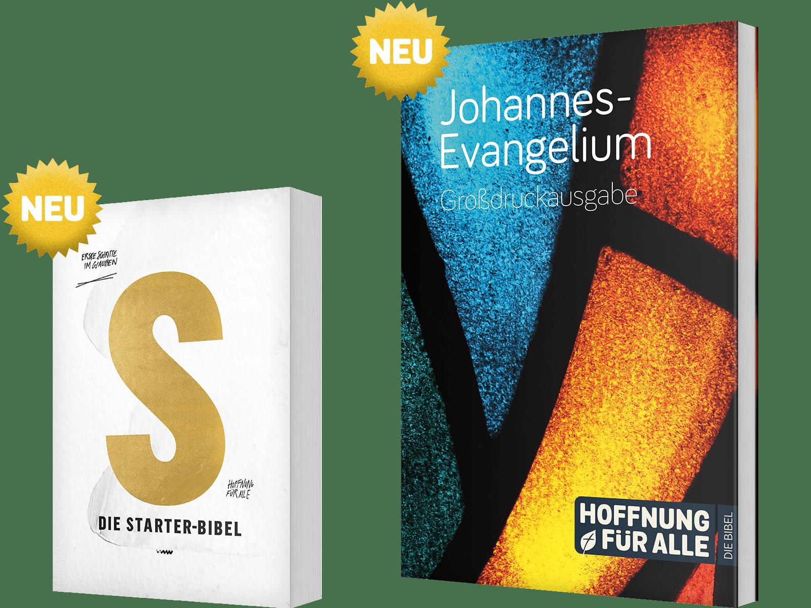 Die Starter-Bibel / Johannes-Evangelium-Großdruckausgabe